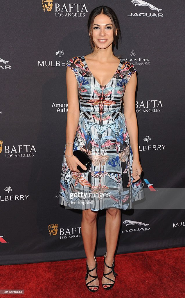 Actress <a gi-track='captionPersonalityLinkClicked' href=/galleries/search?phrase=Moran+Atias&family=editorial&specificpeople=3964520 ng-click='$event.stopPropagation()'>Moran Atias</a> arrives at the 2015 BAFTA Tea Party at The Four Seasons Hotel on January 10, 2015 in Beverly Hills, California.
