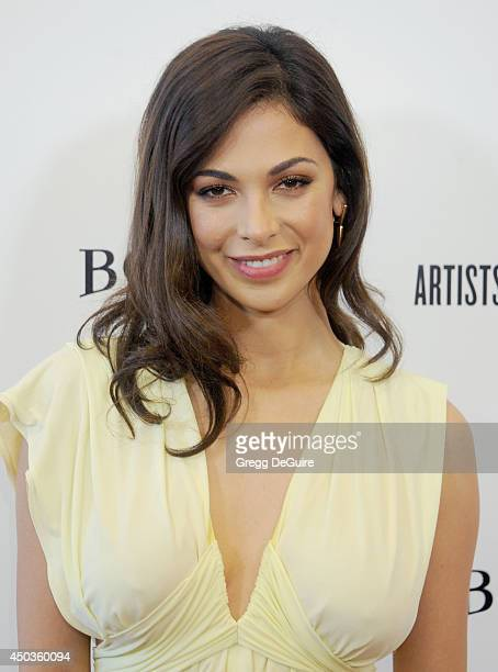Actress Moran Atias arrives at the Los Angeles premiere of 'Third Person' at Pickford Center for Motion Study on June 9 2014 in Hollywood California