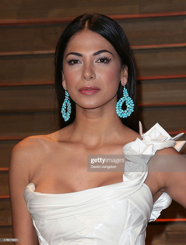 Actress Moran Atias attends the 2014 Vanity Fair Oscar Party hosted by Graydon Carter on March 2, 2014 in West Hollywood, California.