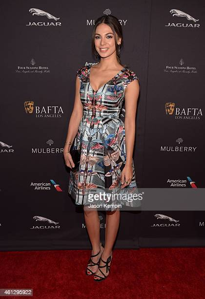 Actress Moran Atias attends the 2015 BAFTA Tea Party at The Four Seasons Hotel Los Angeles At Beverly Hills on January 10 2015 in Los Angeles...