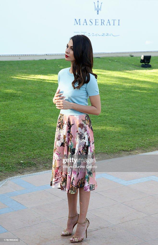 Actress Moran Atias attends the 70th Venice International Film Festival at Terrazza Maserati on August 28, 2013 in Venice, Italy.