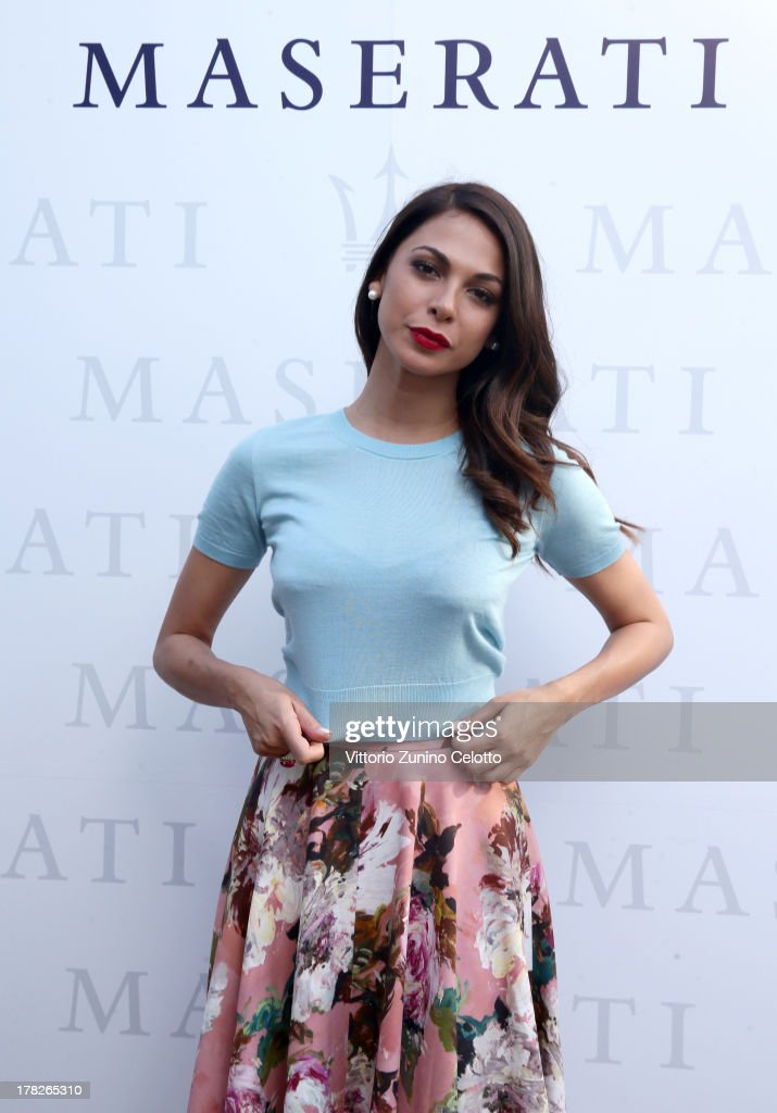 Actress <a gi-track='captionPersonalityLinkClicked' href=/galleries/search?phrase=Moran+Atias&family=editorial&specificpeople=3964520 ng-click='$event.stopPropagation()'>Moran Atias</a> attends the 70th Venice International Film Festival at Terrazza Maserati on August 28, 2013 in Venice, Italy.