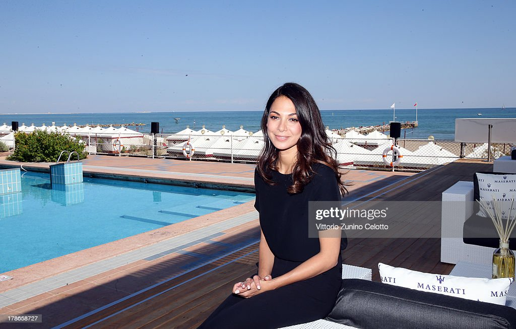 Actress <a gi-track='captionPersonalityLinkClicked' href=/galleries/search?phrase=Moran+Atias&family=editorial&specificpeople=3964520 ng-click='$event.stopPropagation()'>Moran Atias</a> attends the 70th Venice International Film Festival at Terrazza Maserati on August 30, 2013 in Venice, Italy.
