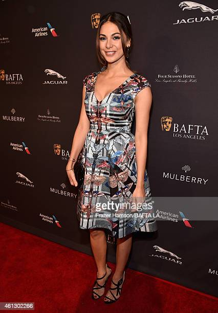 Actress Moran Atias attends the BAFTA Los Angeles Tea Party at The Four Seasons Hotel Los Angeles At Beverly Hills on January 10 2015 in Beverly...