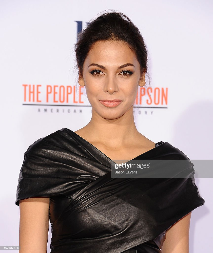 Actress Moran Atias attends the premiere of 'American Crime Story - The People V. O.J. Simpson' at Westwood Village Theatre on January 27, 2016 in Westwood, California.