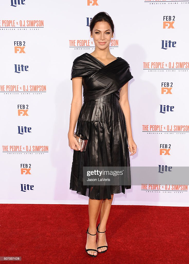 Actress <a gi-track='captionPersonalityLinkClicked' href=/galleries/search?phrase=Moran+Atias&family=editorial&specificpeople=3964520 ng-click='$event.stopPropagation()'>Moran Atias</a> attends the premiere of 'American Crime Story - The People V. O.J. Simpson' at Westwood Village Theatre on January 27, 2016 in Westwood, California.