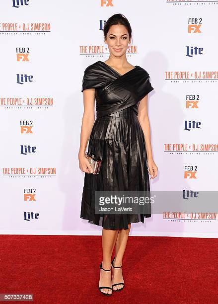 Actress Moran Atias attends the premiere of 'American Crime Story The People V OJ Simpson' at Westwood Village Theatre on January 27 2016 in Westwood...