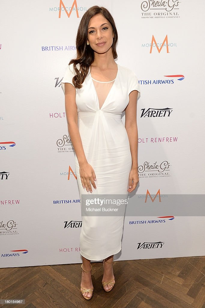 Actress <a gi-track='captionPersonalityLinkClicked' href=/galleries/search?phrase=Moran+Atias&family=editorial&specificpeople=3964520 ng-click='$event.stopPropagation()'>Moran Atias</a> attends Variety Studio presented by Moroccanoil at Holt Renfrew during the 2013 Toronto International Film Festival on September 9, 2013 in Toronto, Canada.
