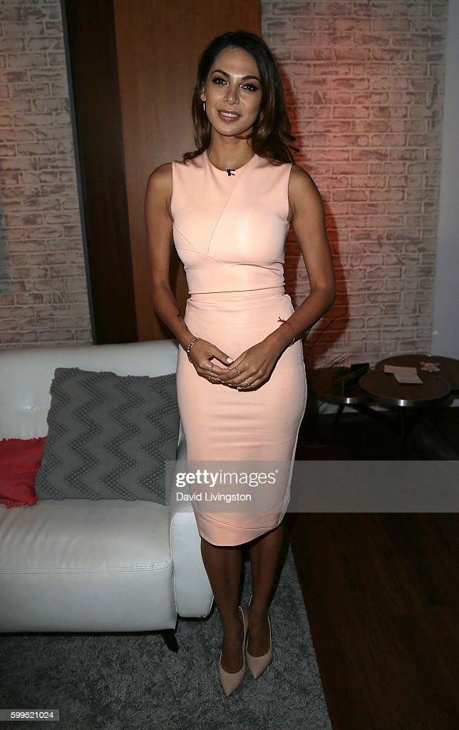 Actress Moran Atias visits Hollywood Today Live at W Hollywood on September 1, 2016 in Hollywood, California.