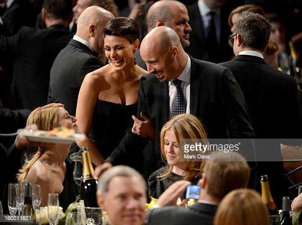 Actress Morena Baccarin and writer/director Austin Chick attend the 19th Annual Screen Actors Guild Awards held at The Shrine Auditorium on January...