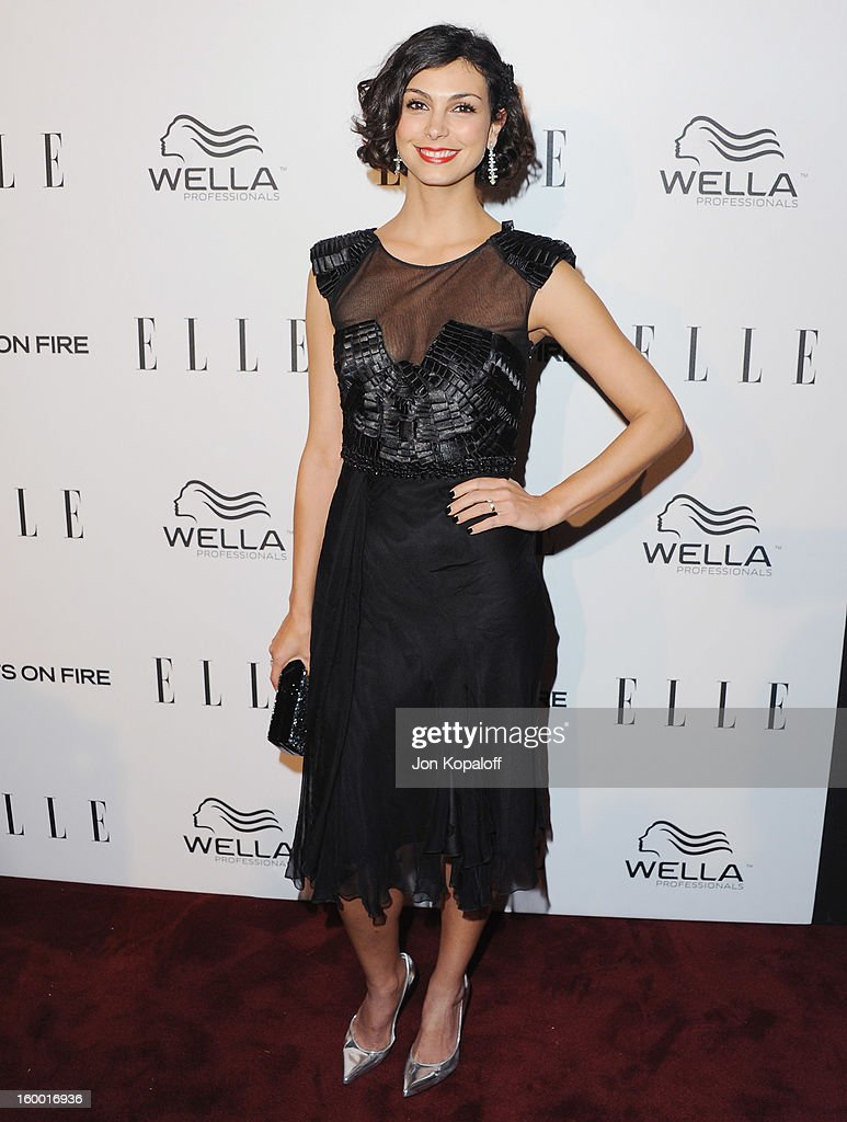 Actress Morena Baccarin arrives at ELLE's 2nd Annual Women In TV Event at Soho House on January 24, 2013 in West Hollywood, California.