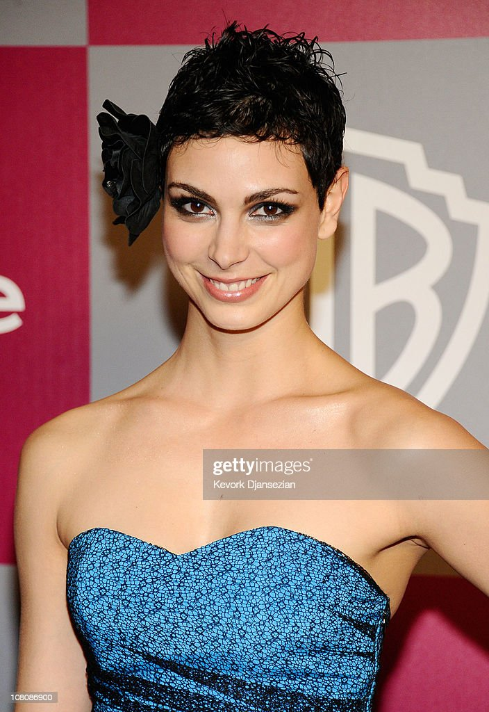 Actress Morena Baccarin arrives at the 2011 InStyle And Warner Bros. 68th Annual Golden Globe Awards post-party held at The Beverly Hilton hotel on January 16, 2011 in Beverly Hills, California.