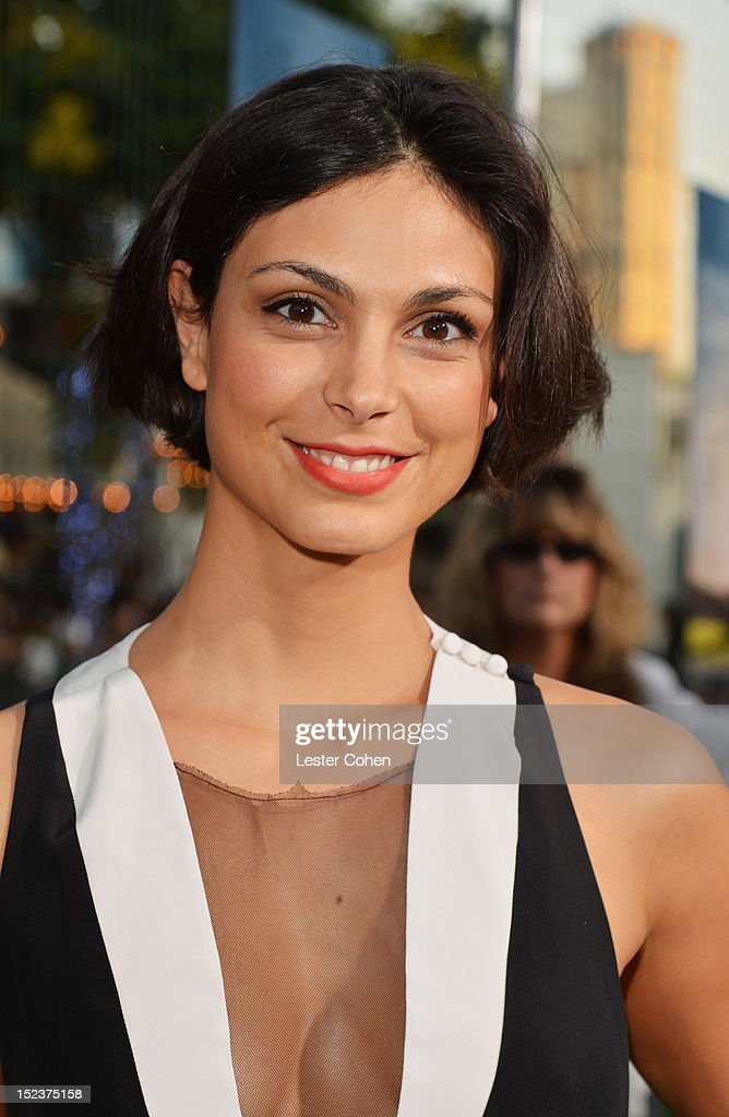 Actress Morena Baccarin arrives at the 'Trouble With The Curve' Premiere at Mann's Village Theatre on September 19, 2012 in Westwood, California.