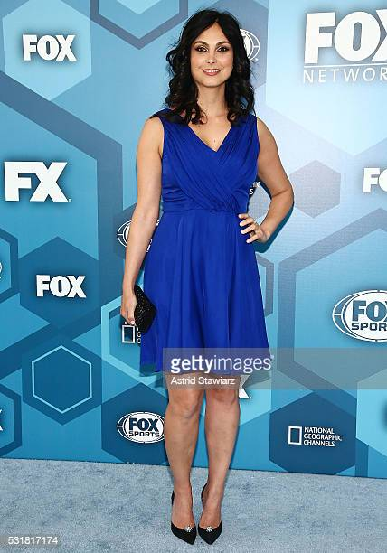 Actress Morena Baccarin attends FOX 2016 Upfront Arrivals at Wollman Rink Central Park on May 16 2016 in New York City