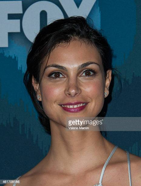 Actress Morena Baccarin attends Fox AllStar Party at Langham Hotel on January 17 2015 in Pasadena California