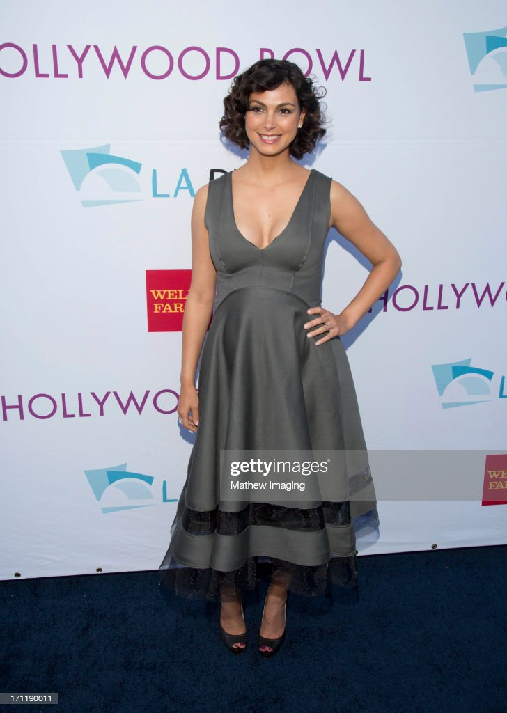 Actress <a gi-track='captionPersonalityLinkClicked' href=/galleries/search?phrase=Morena+Baccarin&family=editorial&specificpeople=812774 ng-click='$event.stopPropagation()'>Morena Baccarin</a> attends Hollywood Bowl Opening Night Gala - Arrivals at The Hollywood Bowl on June 22, 2013 in Los Angeles, California.