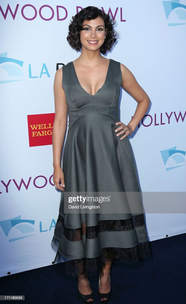Actress <a gi-track='captionPersonalityLinkClicked' href=/galleries/search?phrase=Morena+Baccarin&family=editorial&specificpeople=812774 ng-click='$event.stopPropagation()'>Morena Baccarin</a> attends Opening Night at The Hollywood Bowl 2013 at The Hollywood Bowl on June 22, 2013 in Los Angeles, California.