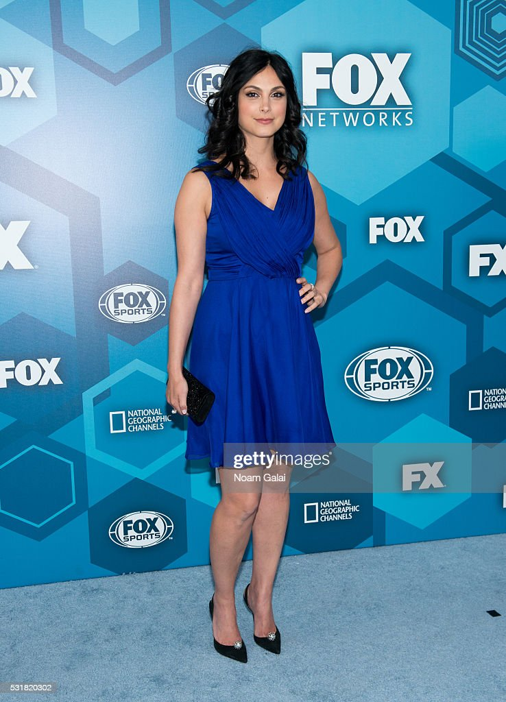 Actress Morena Baccarin attends the 2016 Fox Upfront at Wollman Rink, Central Park on May 16, 2016 in New York City.