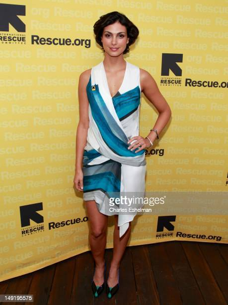 Actress Morena Baccarin attends the 2nd annual GenR Summer Soiree at The James Hotel on July 24 2012 in New York City