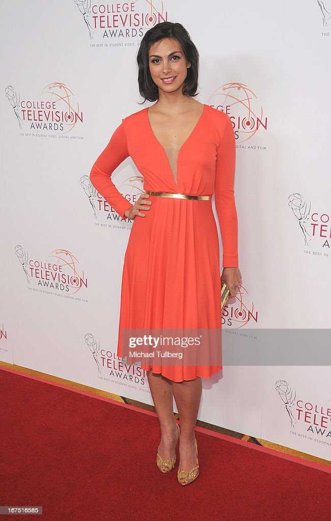 Actress Morena Baccarin attends the 34th College Television Awards Gala at JW Marriott Los Angeles at L.A. LIVE on April 25, 2013 in Los Angeles, California.