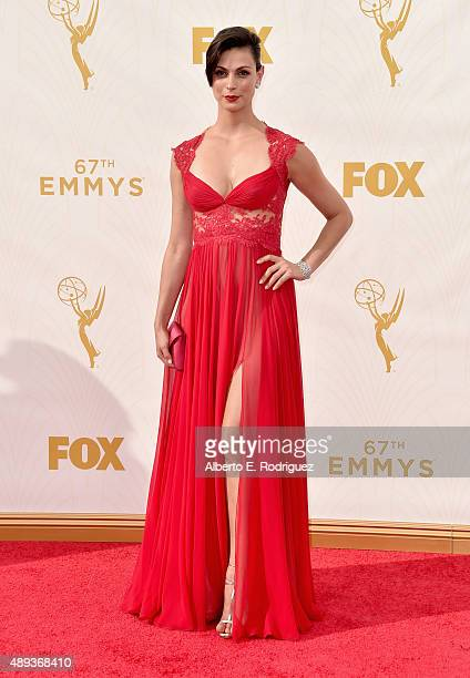 Actress Morena Baccarin attends the 67th Emmy Awards at Microsoft Theater on September 20 2015 in Los Angeles California 25720_001