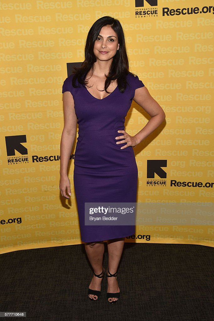 Actress Morena Baccarin attends the 6th Annual GenR Summer Party hosted by International Rescue Committee on July 19, 2016 in New York City.