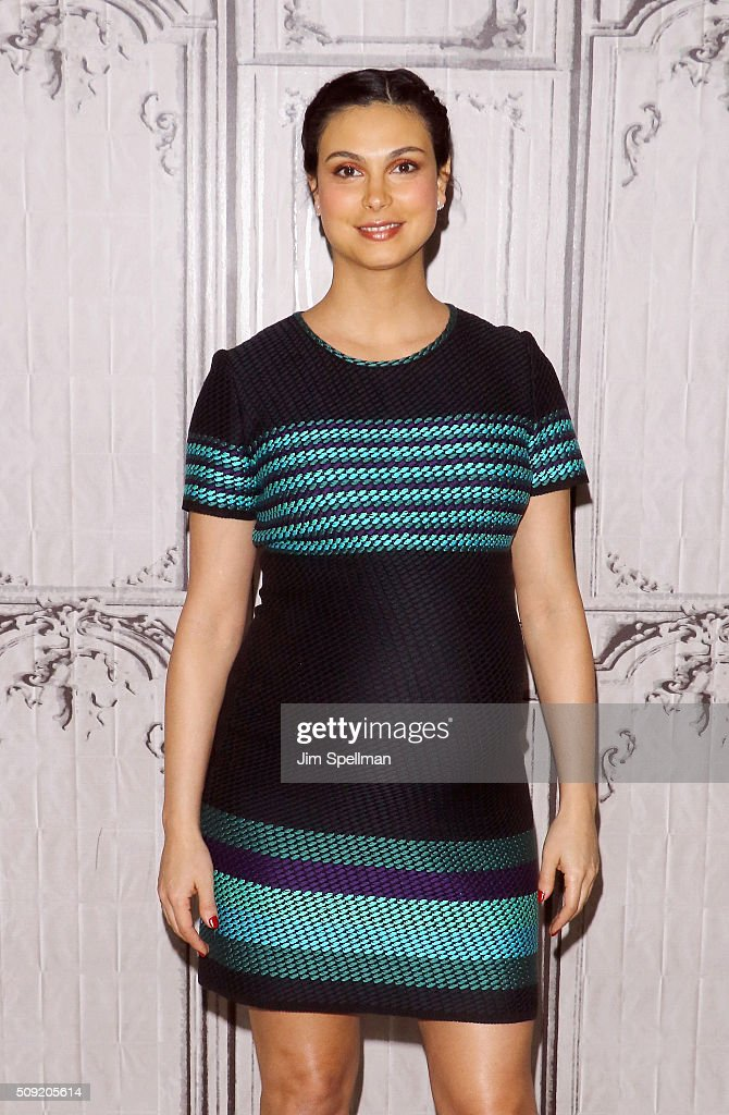 Actress <a gi-track='captionPersonalityLinkClicked' href=/galleries/search?phrase=Morena+Baccarin&family=editorial&specificpeople=812774 ng-click='$event.stopPropagation()'>Morena Baccarin</a> attends the AOL Build Speaker Series - Ryan Reynolds, TJ Miller, Ed Skrein and <a gi-track='captionPersonalityLinkClicked' href=/galleries/search?phrase=Morena+Baccarin&family=editorial&specificpeople=812774 ng-click='$event.stopPropagation()'>Morena Baccarin</a>, 'Deadpool' at AOL Studios In New York on February 9, 2016 in New York City.