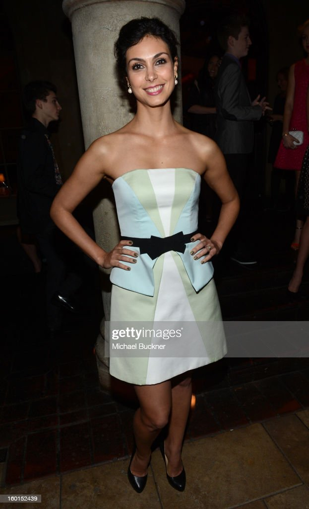 Actress Morena Baccarin attends the Entertainment Weekly Pre-SAG Party hosted by Essie and Audi held at Chateau Marmont on January 26, 2013 in Los Angeles, California.