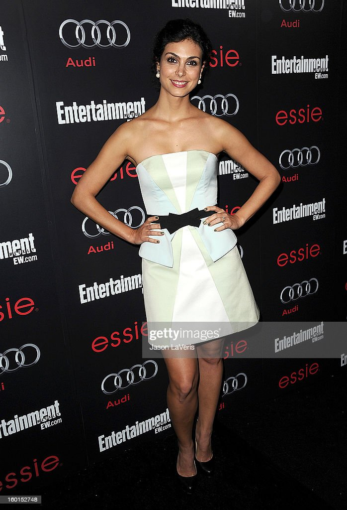 Actress Morena Baccarin attends the Entertainment Weekly Screen Actors Guild Awards pre-party at Chateau Marmont on January 26, 2013 in Los Angeles, California.