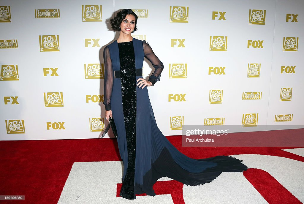 Actress Morena Baccarin attends the FOX after party for the 70th Golden Globes award show at The Beverly Hilton Hotel on January 13, 2013 in Beverly Hills, California.