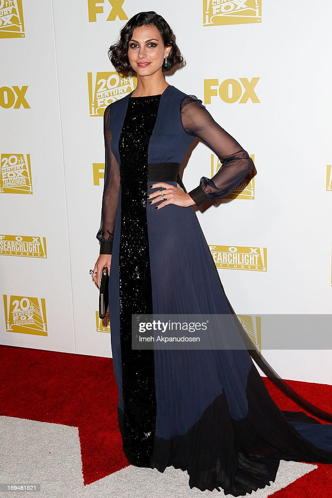Actress Morena Baccarin attends the Fox Searchlight 2013 Golden Globe Awards Party on January 13, 2013 in Beverly Hills, California.
