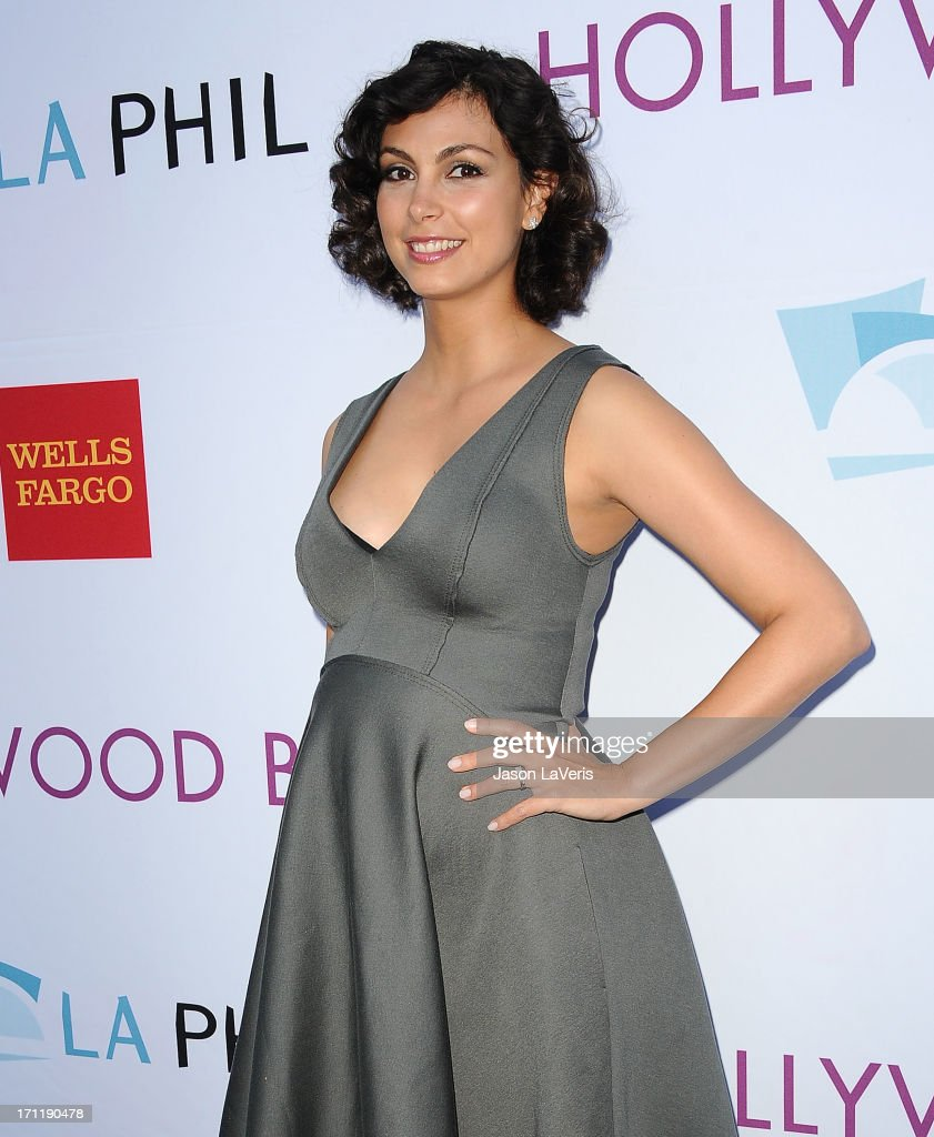 Actress <a gi-track='captionPersonalityLinkClicked' href=/galleries/search?phrase=Morena+Baccarin&family=editorial&specificpeople=812774 ng-click='$event.stopPropagation()'>Morena Baccarin</a> attends the Hollywood Bowl opening night celebration at The Hollywood Bowl on June 22, 2013 in Los Angeles, California.