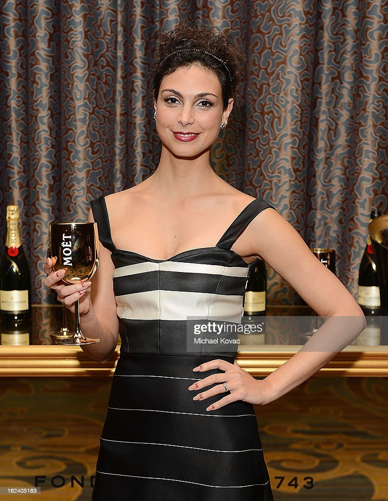 Actress Morena Baccarin attends The National Hispanic Media Coalition Impact Awards sponsored by Moet & Chandon at the Beverly Wilshire Four Seasons Hotel on February 22, 2013 in Beverly Hills, California.