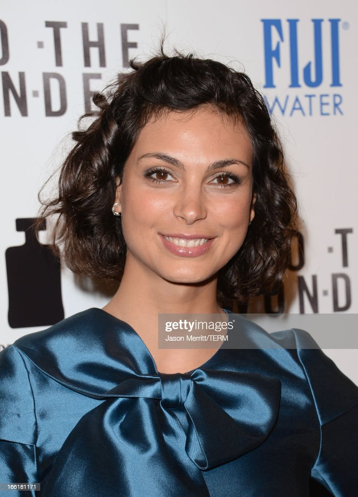 Actress Morena Baccarin attends the premiere of Magnolia Pictures' 'To The Wonder' at Pacific Design Center on April 9, 2013 in West Hollywood, California.