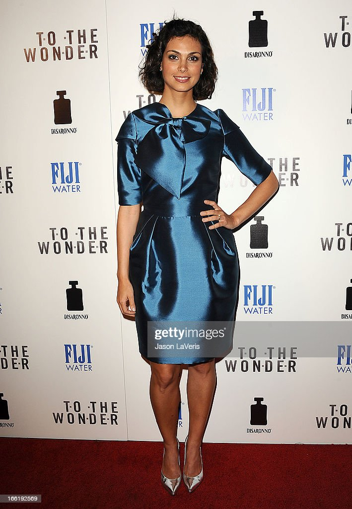 Actress Morena Baccarin attends the premiere of 'To The Wonder' at Pacific Design Center on April 9, 2013 in West Hollywood, California.