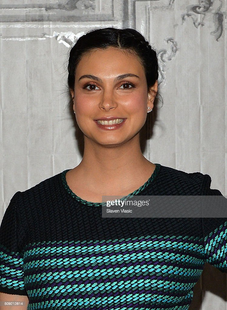 Actress <a gi-track='captionPersonalityLinkClicked' href=/galleries/search?phrase=Morena+Baccarin&family=editorial&specificpeople=812774 ng-click='$event.stopPropagation()'>Morena Baccarin</a> visits AOL Build Speaker Series to discuss her new film 'Deadpool' at AOL Studios In New York on February 9, 2016 in New York City.