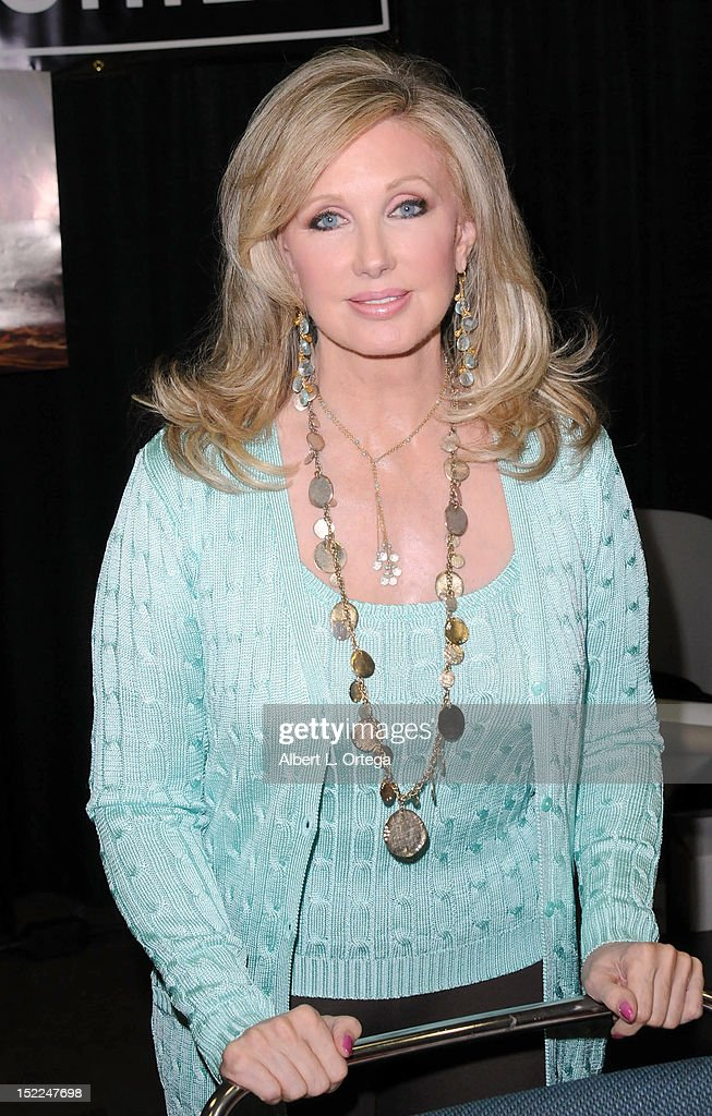 Actress Morgan Fairchild participates in Stan Lee's Comickaze Expo 2nd Annual Pop Culture Convention - Day 2 held at Los Angeles Convention Center on September 16, 2012 in Los Angeles, California.