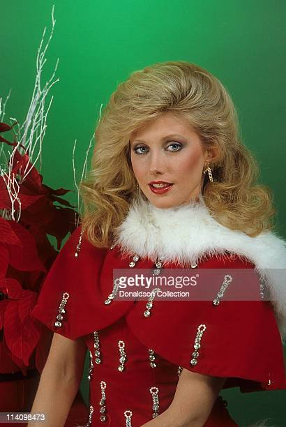 Actress Morgan Fairchild poses for a portrait in c1985 in Los Angeles California