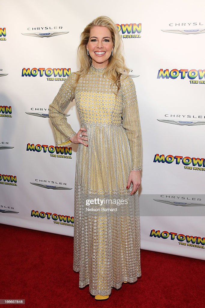 Actress Morgan James attends the after party for the Broadway opening night for 'Motown: The Musical' at Roseland Ballroom on April 14, 2013 in New York City.