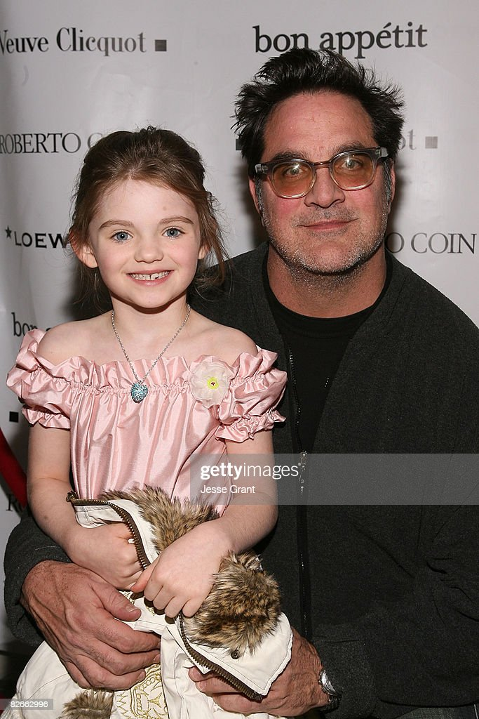 Actress Morgan Lily and director Mark Pellington at The Bon Appetit Supper Club Hosts 'Henry Poole Is Here' party on January 21, 2008 in Park City, Utah.
