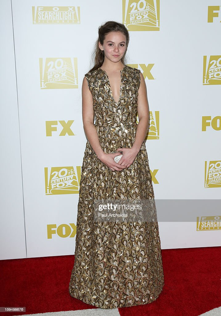 Actress Morgan Saylor attends the FOX after party for the 70th Golden Globes award show at The Beverly Hilton Hotel on January 13, 2013 in Beverly Hills, California.