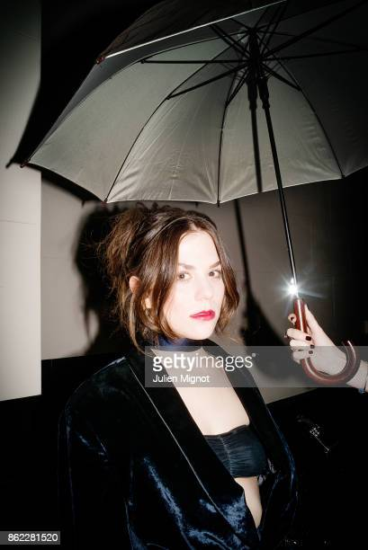 Actress Morgane Polanski is photographed for ELLE Magazine on February 2016 in Paris France