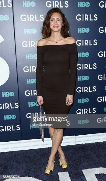 Actress Mozhan Marno attends the the New York premiere of the sixth and final season of 'Girls' at Alice Tully Hall Lincoln Center on February 2 2017...