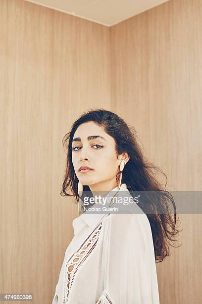 Actress musician and singer Golshifteh Farahani is photographed on May 18 2015 in Cannes France