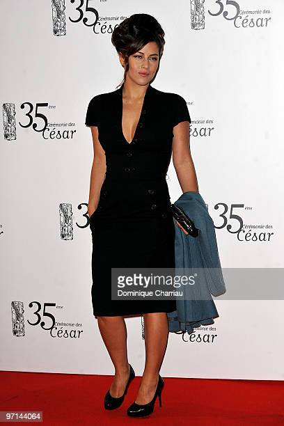 Actress Mylene Jampanoi attends the 35th Cesar Film Awards at Theatre du Chatelet on February 27 2010 in Paris France