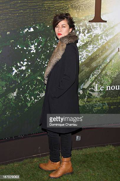 Actress Mylene Jampanoi attends the 'Il Etait Une Foret' Paris Premiere at Cinema Gaumont Marignan on November 5 2013 in Paris France