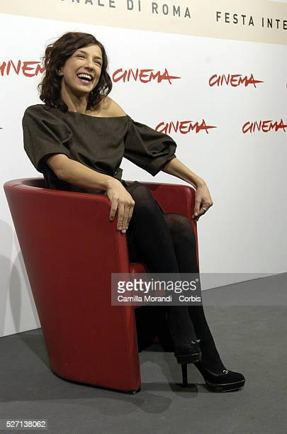 Actress Myriam Catania at the photocall of 'L'Uomo Privato' during the 2nd annual Rome Film Festival