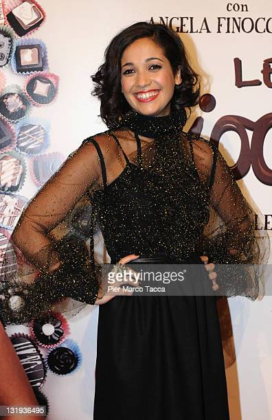 Actress Nabiha Akkari attends 'Lezioni Di Cioccolato 2' Milan photocall held at Cinema Colosseo on November 8 2011 in Milan Italy