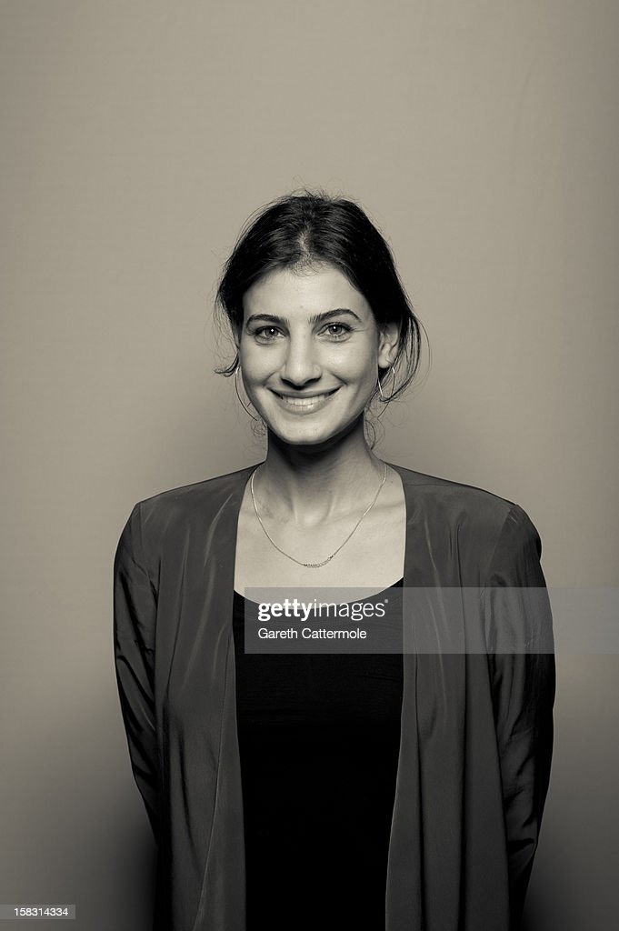 Actress Nada Shouhayib during a portrait session on day five of the 9th Annual Dubai International Film Festival held at the Madinat Jumeriah Complex on December 13, 2012 in Dubai, United Arab Emirates.