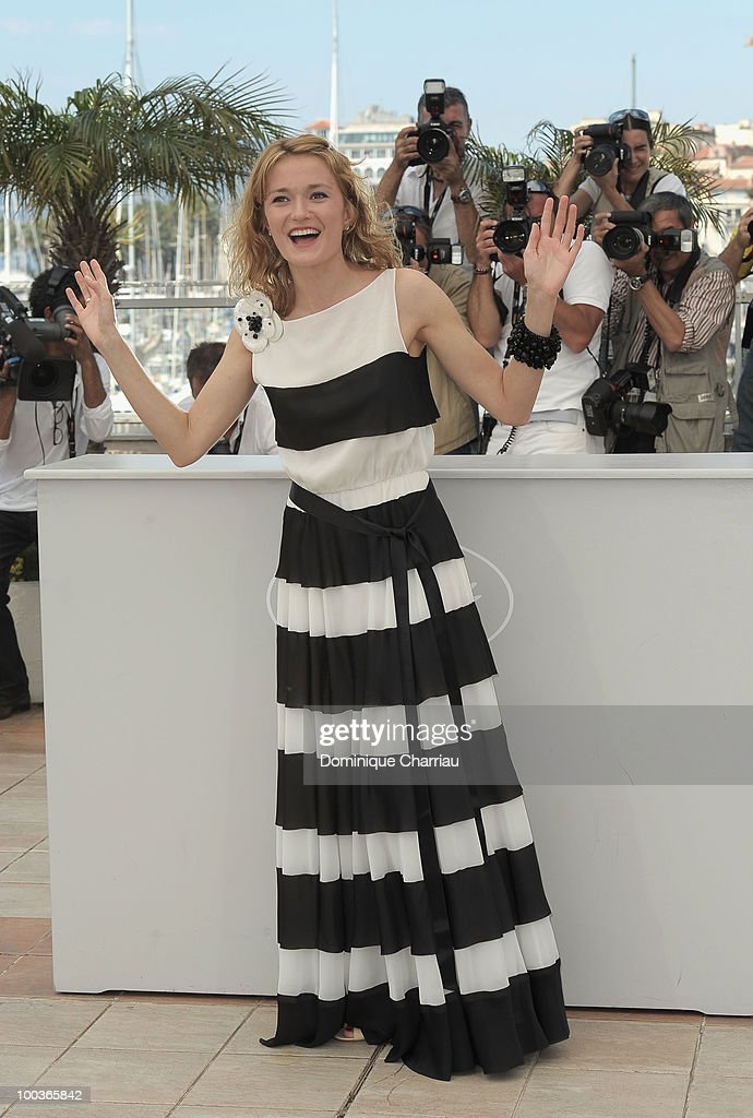 Actress Nadezhda Mihalkova attends 'The Exodus - Burnt By The Sun 2' Photo Call held at the Palais des Festivals during the 63rd Annual International Cannes Film Festival on May 22, 2010 in Cannes, France.
